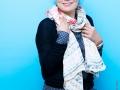 """Chahdortt Djavann, romanciere et essayiste francaise d'origine iranienne. Photographie realisee a l'occasion du 6em salon international du livre au format de poche """"Saint-Maur en Poche"""". St Maur,FRANCE-le 21/06/14"""