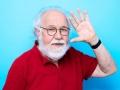 """Bernard Prou, ecrivain francais. Photographie realisee a l'occasion du 6em salon international du livre au format de poche """"Saint-Maur en Poche"""". St Maur,FRANCE-le 21/06/14"""