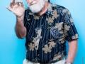 """Pef (Pierre Elie Ferrier), auteur et illustrateur francais.Photographie realisee a l'occasion du 6em salon international du livre au format de poche """"Saint-Maur en Poche"""".St Maur,FRANCE-le 22/06/14"""